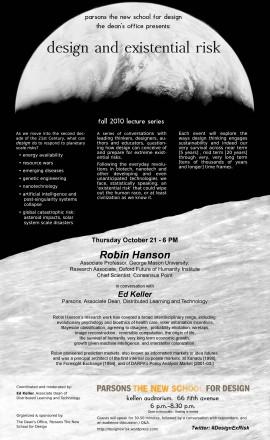 DesignExRisk: Robin Hanson