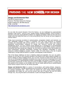 Design Existential Risk flyer